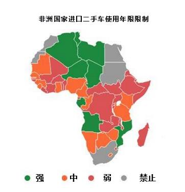 非洲哪个国家进口二手车最多_二手车出口许可证_旭洲物流
