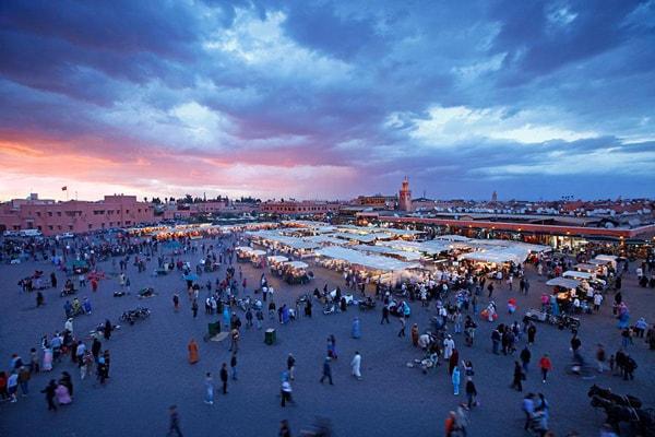 2019年摩洛哥游客数量及来源情况