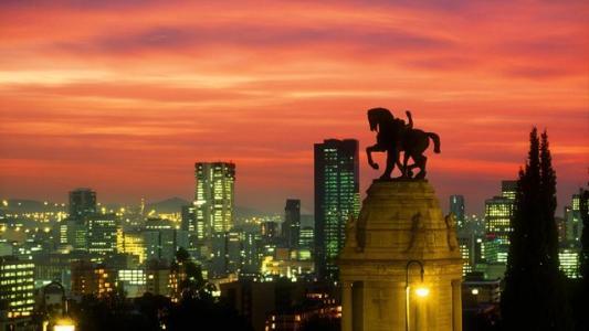 南非8月份排名前十的国家游客数量同比下降
