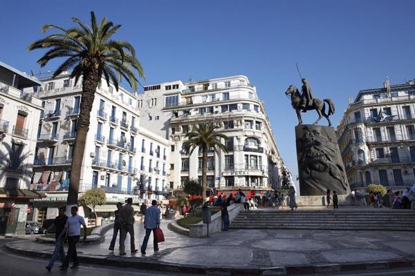 阿尔及利亚的阿尔及利亚港现状